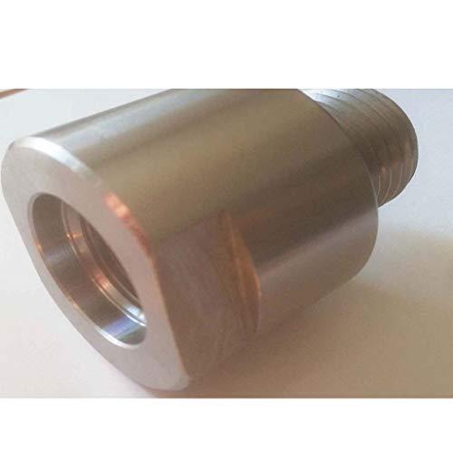 Racord adaptador para plato de torno M33 a H1-1/8'