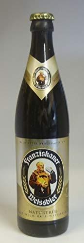 Bier Kerzen Franziskaner Weißbier 0,5 l - 2008 - Ein bayerisches Bier Geschenk