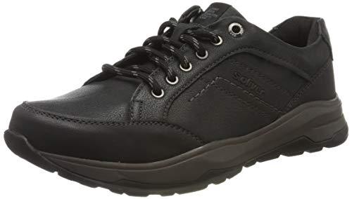 s.Oliver Herren 5-5-13601-23 Sneaker, Schwarz (Black 001), 44 EU