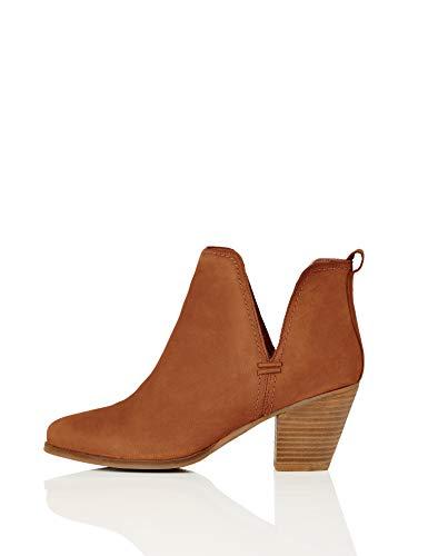 find. Maud Pe-6215 Chelsea Boots Stiefel, Braun/Hellbraun, 39 EU