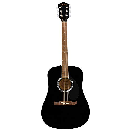 Fender FA-125 Dreadnought Acoustic Guitar - Walnut Fingerboard - Bl