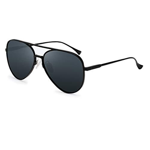 Gafas protectoras Aviator gafas de sol hombres mujeres gafas de sol polarizadas UV400 Anti-deslumbramiento Gafas de moda Gafas de conductor Glasses Auto-reparación Capacidad Frame adaptativo Proteccio