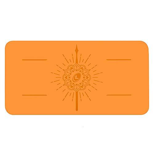 Liforme Yoga Pad - Esterilla de Yoga Antideslizante para Rodillas, Brazos y...