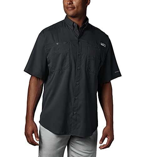 Columbia Men's Tamiami II Short Sleeve Shirt, Black, Medium