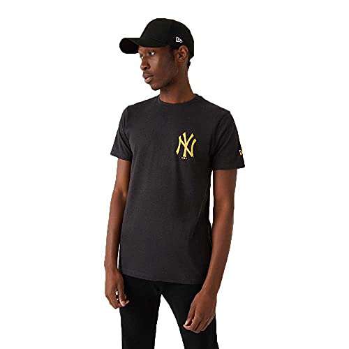 New Era MLB New York Yankees - Camiseta de manga corta, color gris gris XXL