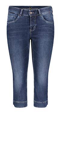 MAC Jeans Damen Hose Melanie Forever Denim , Black-black, 38W / 32L