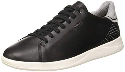 Geox Herren U KENNET B Sneaker, Schwarz (Black C9999), 43 EU