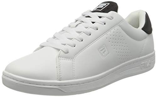 FILA Herren Crosscourt 2 NT Men Sneaker, White/Black, 40 EU