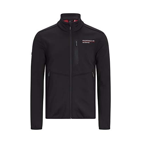 Porsche Motorsport Men's Softshell Jacket in Black (XL)