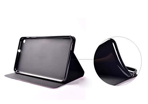 LMFULM® Hülle für Huawei MediaPad T1 / T1-701U (7 Zoll) PU Leder Ultra Dünn Magnet Lederhülle Stern Traumfänger Muster Standfunktion Tasche Schutzhülle für Huawei T1 7.0 - 6
