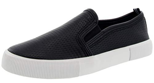 Nautica Women Conaway Shoe Slip-On Sneaker-Black Textured-9.5