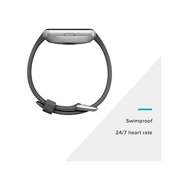Fashion Shopping Fitbit Versa Smart Watch, One Size (S & L Bands Included)