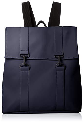 RAINS Unisex MSN Bag Tagesrucksack, Blau (blau), 35.0x39.0x14.0 cm (W x H x L)