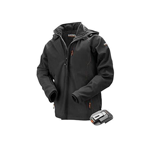 Ridgid Men's 18-Volt Lithium-Ion Cordless Heated Jacket (X-Large)