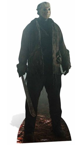Fantastic Beasts Jason Voorhees Pappaufsteller Friday The 13th, Holz, Mehrfarbig, 190 x 2 x 190 cm, 2
