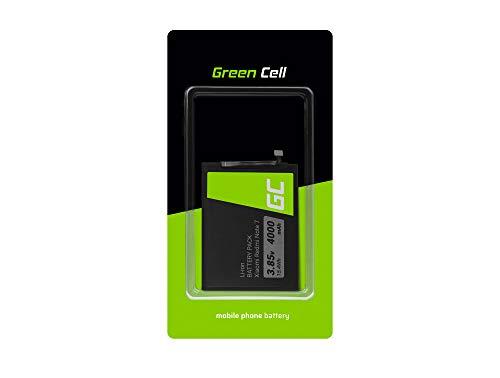 Green Cell BN4A Handy Akku für Xiaomi Redmi Note 7 | Li-Ion Zellen | 4000 mAh 3.85V | Ersatz Smartphone Batterie | Markenakku | Volle Kompatibilität | Reale Kapazität | ohne Memory-Effekt