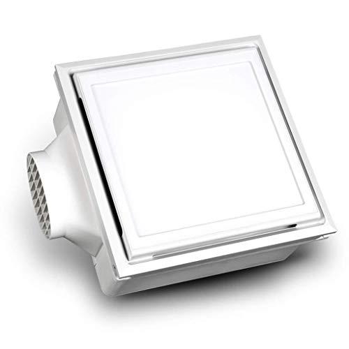 Ventilador de ventilación doméstico De Techo Integrado del Ventilador con La Iluminación 2 En 1 Baño Cocina De Alta Potencia Ventilador LITING (Color : A)