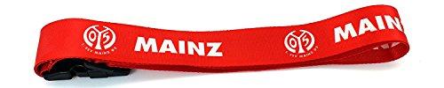 TrendandStylez Original Fanartikel: Gepäckband Kofferband Gepäckgurt Kofferriemen Koffergurt verschiedener Bundesliga Vereine (Mainz 05)