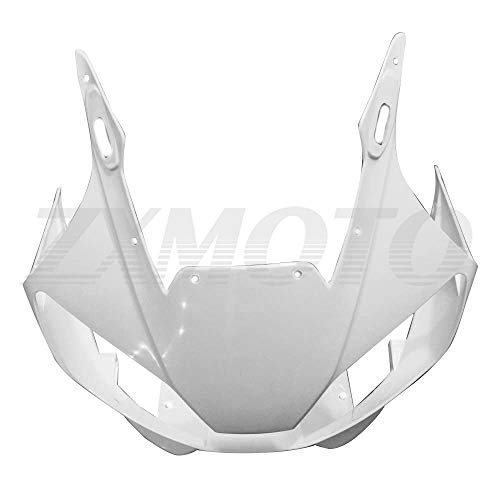 ZXMOTO Unpainted ABS Plastic Front Upper cowl nose Fairing for YAMAHA YZF R6 1998 1999 2000 2001 2002