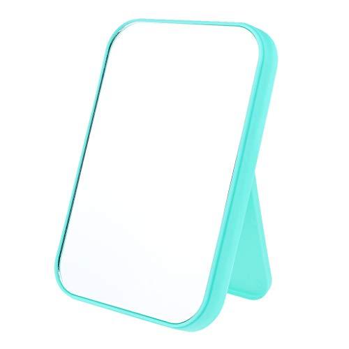 perfeclan 1 Pieza Lindo Espejo Cosmético Bolso De Viaje Espejo De Maquillaje Plegable Espejo Compacto Cuadrado - Verde, Individual