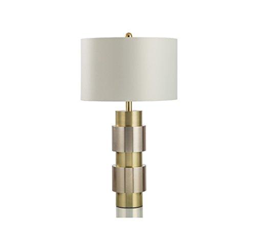 JPVGIA Lámpara de mesa Luz de noche Moderno Minimalista Hotel Sala de estar Dormitorio Decoración Lámpara de escritorio Metal Table Light