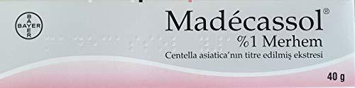 MADECASSOL ® 40 gr (Centella 1%) Creme gegen Narben, Flecken, Verbrennungen Narbencreme,Narbensalbe,Narbe gel,Narbenentfernung,Scar cream,Narbe Creme Narbe Behandlung