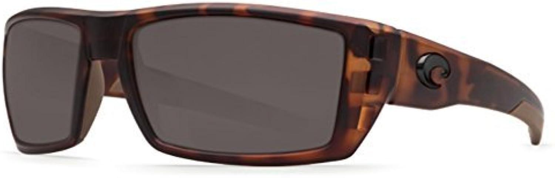 Costa Del Mar RFL 66 Rafael Retro Tort Square Sunglasses for Mens
