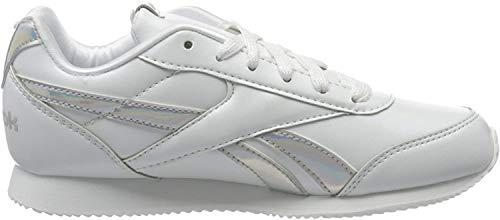 Reebok Kinder Royal Cljog 2 Traillaufschuhe, Mehrfarbig (White/Iridescent 000), 38.5 EU