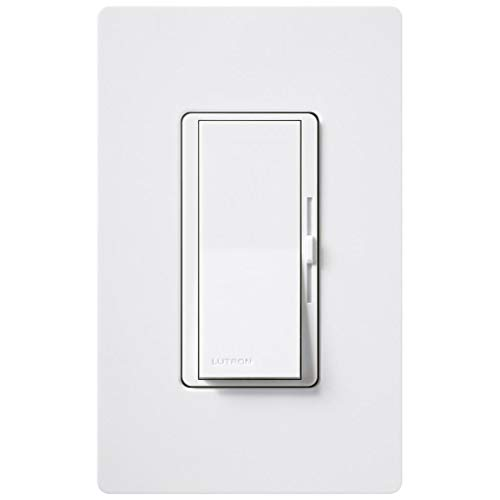 Lutron DVFSQ-F-HO-WH Diva Quiet Fanspeed High Output White