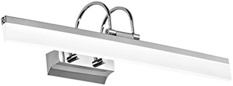 Bild Frontleuchte Nordischen Stil Wasserdichte Anti-Fog-Feuchtigkeits-Badezimmer-Toilette LED-Spiegel-Frontleuchte Einfache Mode Make-up-Leuchten Wandleuchte Spiegelschrank Lichter Eitelkeitslicht