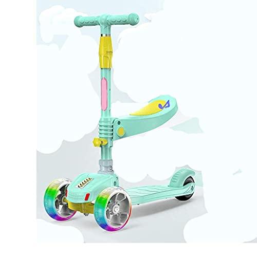 Scooter para patinetes con Asiento Fing, Ideal para niñas, Altura Ajustable