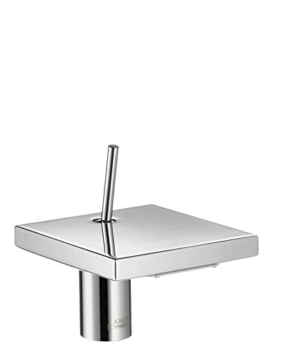AXOR Wasserhahn Starck X (Armatur mit Auslauf Höhe 100 mm, ohne Ablaufgarnitur) Chrom