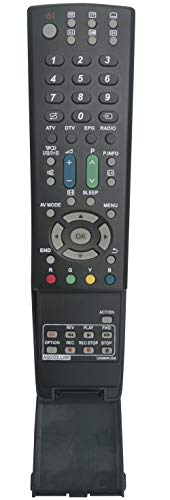 ALLIMITY GA586WJSA Fernbedienung Ersetzt für Sharp LCD AQUOS TV LC-32DH66E LC-32DH77S LC-32G20E LC-32LE700E LC-32LE705E LC-32XL8E LC-37B20E LC-37DH66E LC-37G20E LC-46LU705E LC-46LX700E