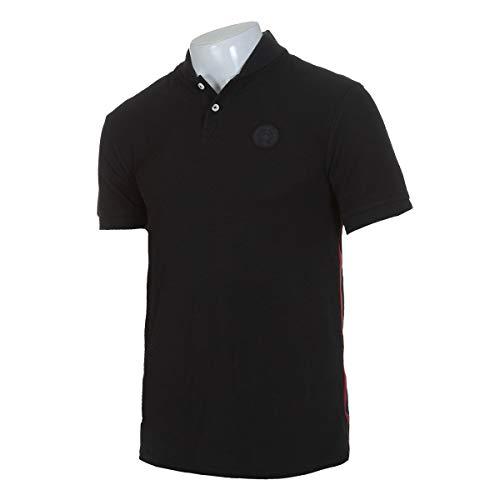 Nike Herren FC Barcelona Polo Shirt Polohemd Schwarz (M)