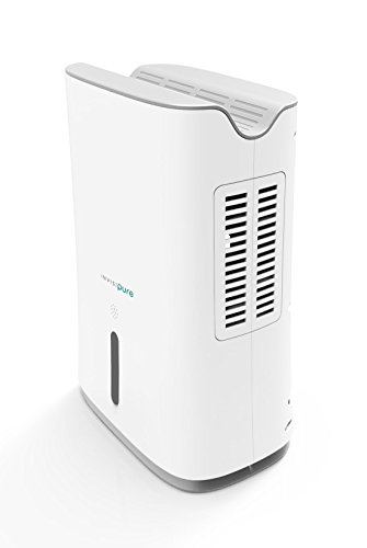 InvisiPure Hydrowave Dehumidifier - Small Compact Portable Dehumidifier for Home, RV, Bathroom,...