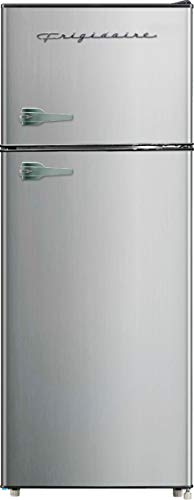 Frigidaire EFR751, 2 Door Apartment Size Refrigerator with Freezer, 7.2 cu ft, Platinum Series, Stainless steel, 7.5