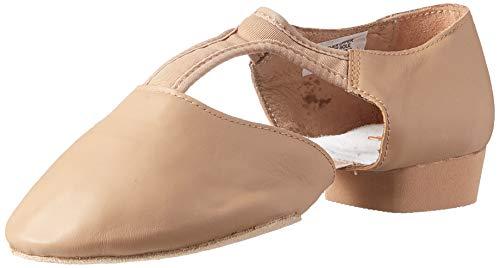 Bloch Women's Elastospllit Grecian Dance Shoe, tan, 10.5 Medium US