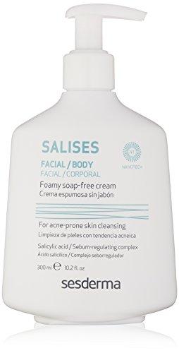 Sesderma SALISES Foamy Soap-free Cream, 10.2 Fl Oz