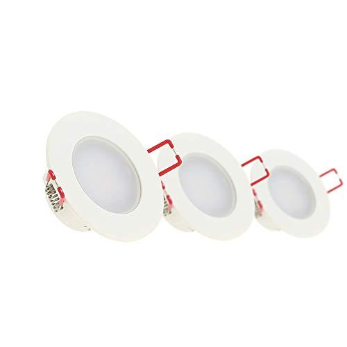 Xanlite PACK3SEL345CWIP Lampe encastrée, 3 spots encastrés, blanc neutre