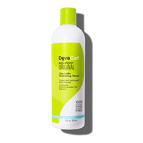 Devacurl No-Poo Original Cleanser; Zero Lather; Gentle for All Hair Types; Sulfate; Paraben and...