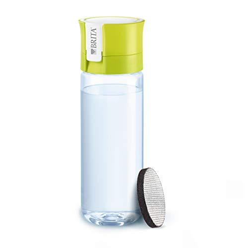 Brita Fill&Go Bottle Filtr Lime Water filtration bottle Lime,Transparent