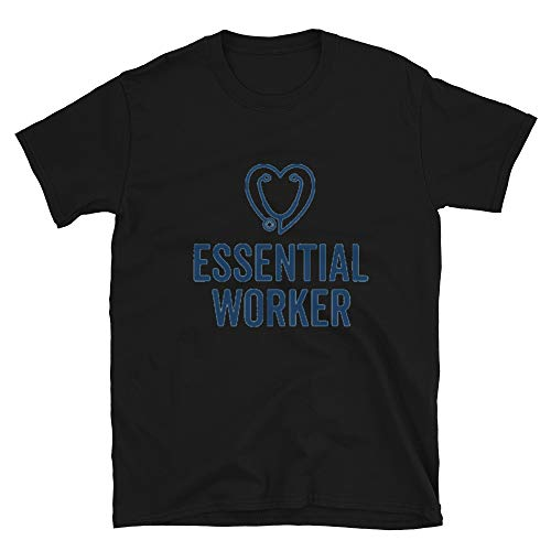 Best Graphic Designers Essential Worker, Social Distancing, Self Isolation, Quarantined T-Shirt 2 Black