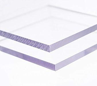 Placa de Policarbonato Transparente compacto 2mm con protección UV tamaño 1020x700mm (1)
