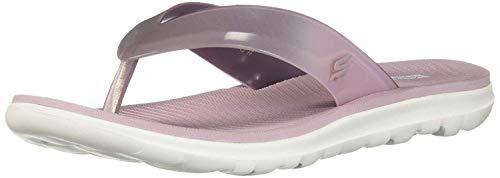 Skechers Nextwave Ultra Zehentrenner, Violett (Lilac Lil), 36 EU