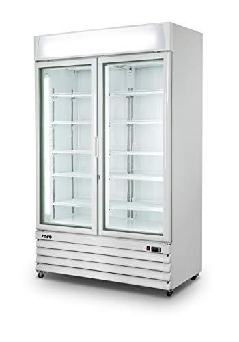 SARO Tiefkühlschrank mit Glastür - 2-türig Modell D 800