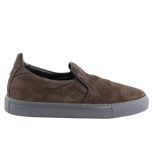 Matchless Damen Leder Sneaker Schuhe Slip On G3 Military Green Größe 37