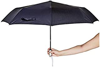 Korjo Folding Umbrella, 6 Centimeters, Black