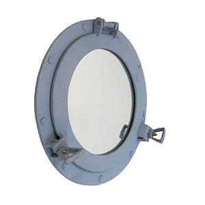 Handmade Aluminum Porthole Mirror Us Navy