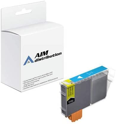 AIM Compatible Replacement for Nukote RF186C Cyan Inkjet (280 Page Yield) - Compatible to Canon BCI-6C - Generic