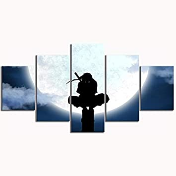 Amazon Com Uchiha Itachi Naruto Shippuuden Utility Pole Silhouette Anime Poster Canvas Art Pictures For Living Room Wall Decor Framed M 10x15inch Frame Posters Prints One in particular is when he says, people's lives don't end when they die. uchiha itachi naruto shippuuden utility pole silhouette anime poster canvas art pictures for living room wall decor framed m 10x15inch frame